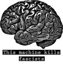 5 Platz: brain kills fascists