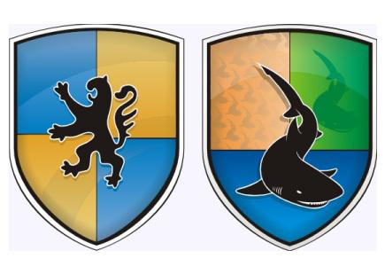 Wappen Aufkleber Aufkleber In Wappenform